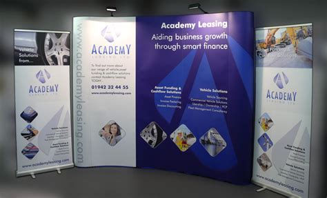 exhibition banners pop up displays exhibition stands 3x3 pop up displays 163 550 backdrops stands carrick signs