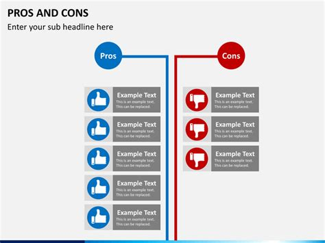 pros and cons of one story versus two story homes pros and cons powerpoint template sketchbubble