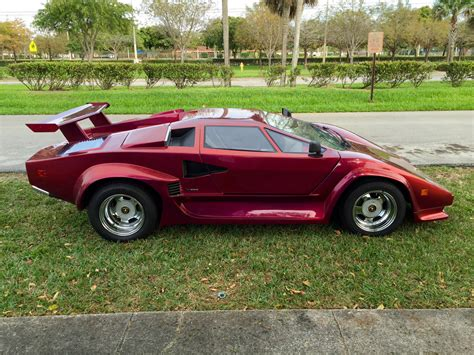 how cars run 1990 lamborghini countach auto manual 1985 lamborghini countach 5000 replica classic replica kit makes lamborghini countach 1985 for
