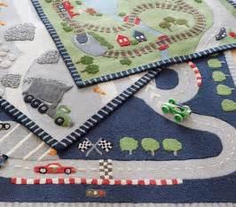 race car rug pottery barn