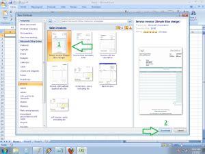 cara membuat invoice excel 2007 cara membuat invoice dengan menggunakan template microsoft