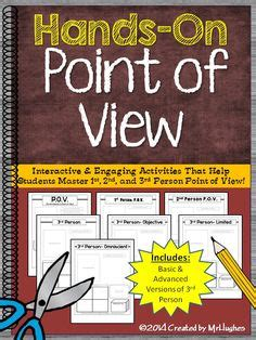 picture books to teach point of view freebie set of 6 posters for point of view using