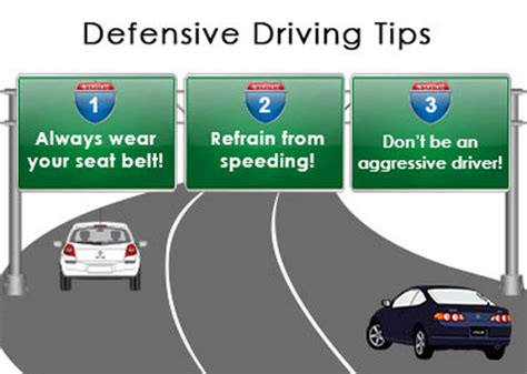 7 Tips For Being A Safe Driver On The Road by 7 Easy Defensive Driving Techniques You Must
