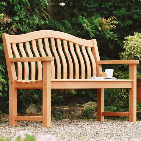 5ft garden bench alexander rose mahogany turnberry bench 5ft 163 372 94