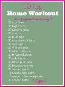 at home workout routines guest post 30 rep home workout the seasoned