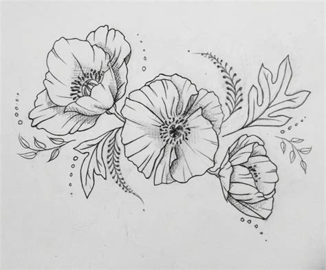 poppy flower tattoo designs poppy interested in custom design check
