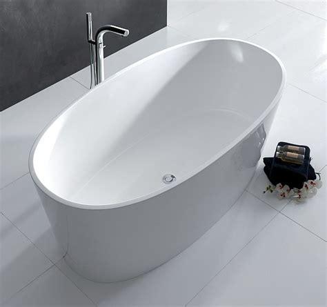 badewanne restposten freistehende badewanne ios aus quarrycast in hochglanz