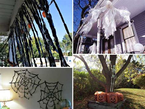 how to make scary halloween decorations at home 26 diy ideas how to make scary halloween decorations with