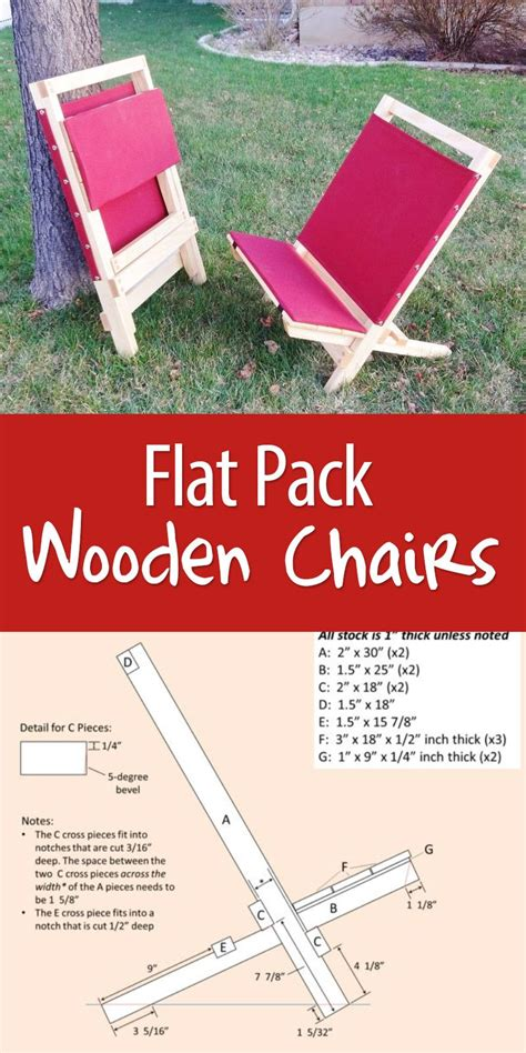flat pack wooden chairs diy wood projects wood projects