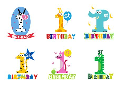 Decorative Owls free 1st birthday vector download free vector art stock