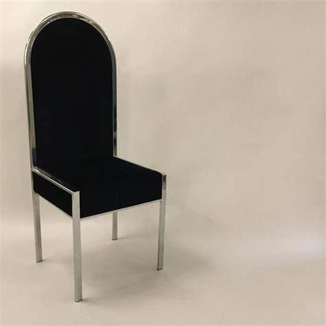 Italian Design Dining Chairs Set Of Six Italian Design Dining Chairs For Sale At 1stdibs