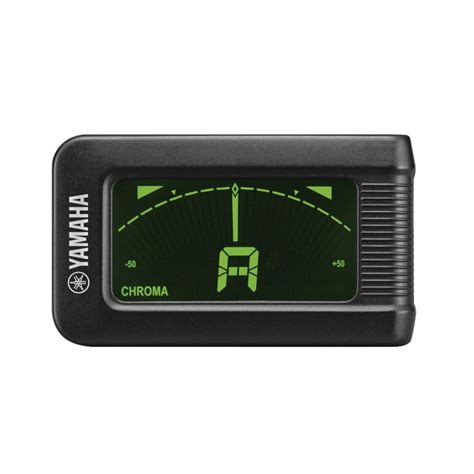Tuner Gitar yamaha ytc5 clip on guitar tuner at gear4music