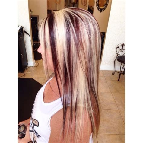 long hairstyles red highlights 14 charming blond hairstyles with red highlights pretty