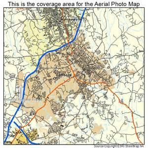 aerial photography map of concord nc carolina
