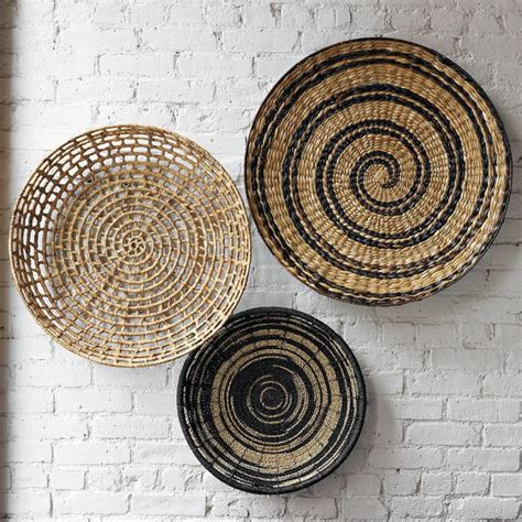 decorating home  ethnic wicket dishes  bowls