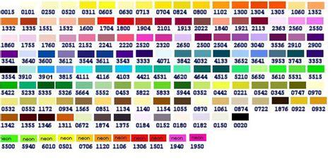 color marathon marathon embroidery thread colour chart search