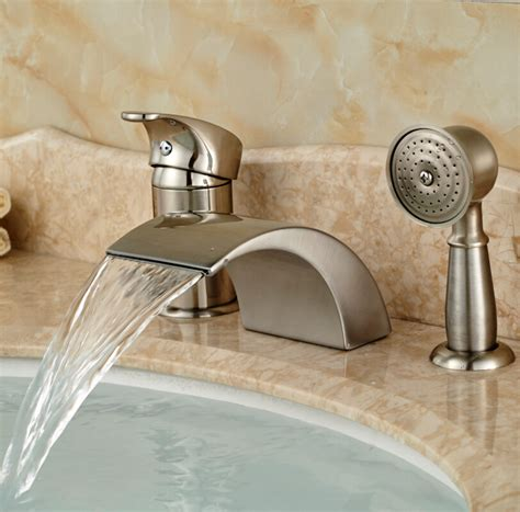 bathtub faucet set bathroom shower and sink faucet sets bathroom design ideas