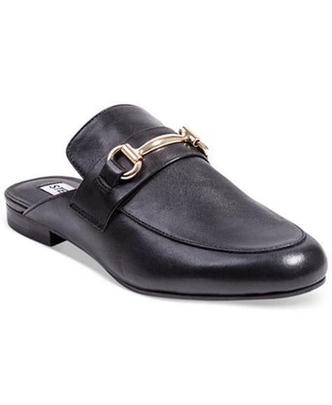 steve madden s kandi slip on tailored mules flats shoes macy s