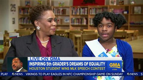 Good Morning America Facebook Giveaway - houston winner of mlk jr oratory contest appears on good morning america houston