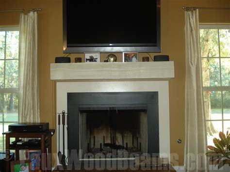 Faux Wood Fireplace Mantels by Fireplace Mantels Rugged Design Ideas With Wood