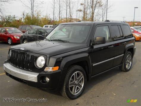jeep limited black 2008 jeep patriot limited 4x4 in brilliant black crystal
