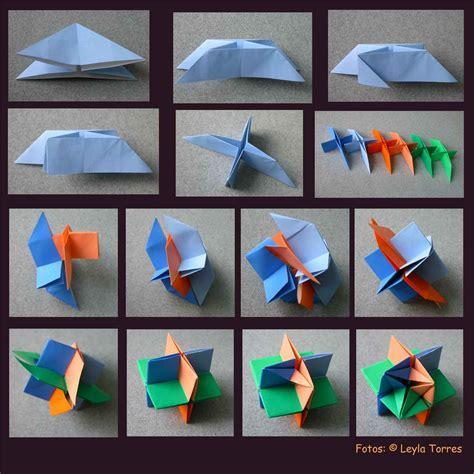 Modular Origami Tutorials - origami hikaru chan