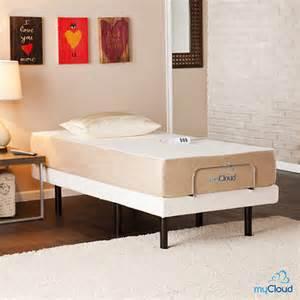 Bed Frames Bjs Sei Mycloud Xl Size Adjustable Bed Frame With