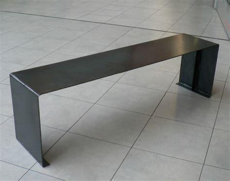 banc en metal banc design sur mesures en acier
