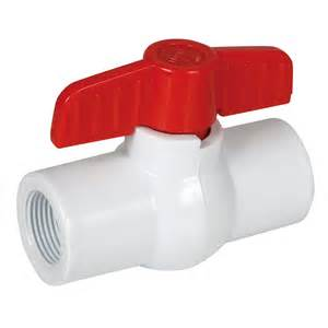 threaded pvc valve qc supply