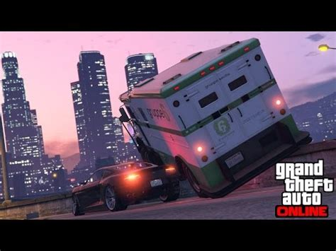 gta online  hunting pack attack the armoured truck...again