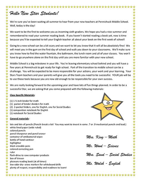 Parent Welcome Letter 5th Grade 17 Best Ideas About Welcome Letters On Welcome Letter School Classroom