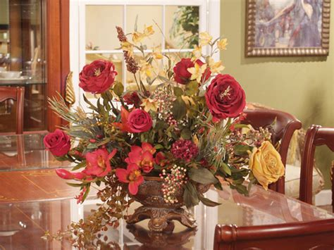 and gold silk arrangement ar102 120 floral home