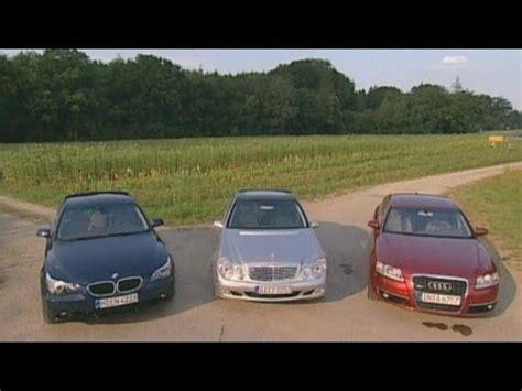 Audi A6 Vs Bmw 530d by Audi A6 3 0 Tdi Vs Mercedes E 320 Cdi Vs Bmw 530d