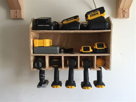 Diy Charging Stations Cordless Drill Charging Station Live Ride Write