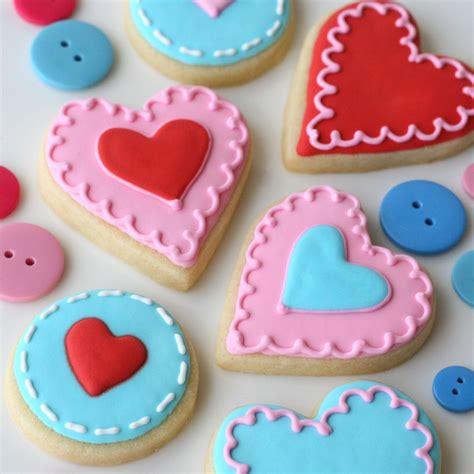 cookies valentines valentine s garland and cookies glorious treats