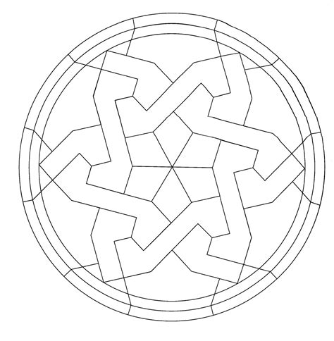 imagenes abstractas geometricas para pintar mandalas para pintar mandala estrella para principiantes