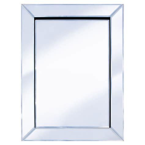 rectangle mirror lissabon wall mirror rectangular in nobel beech buy modern wall mirror furniture in fashion