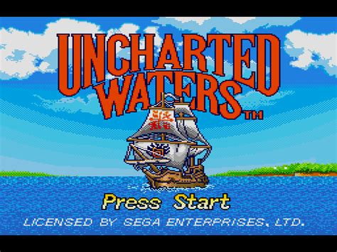 Emuparadise Uncharted | uncharted waters usa rom