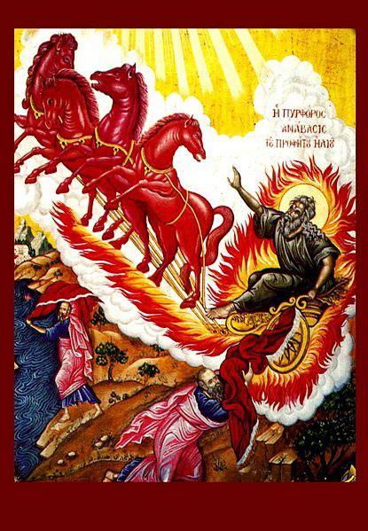 elijah and chariot of fire resurrection immortality trinity