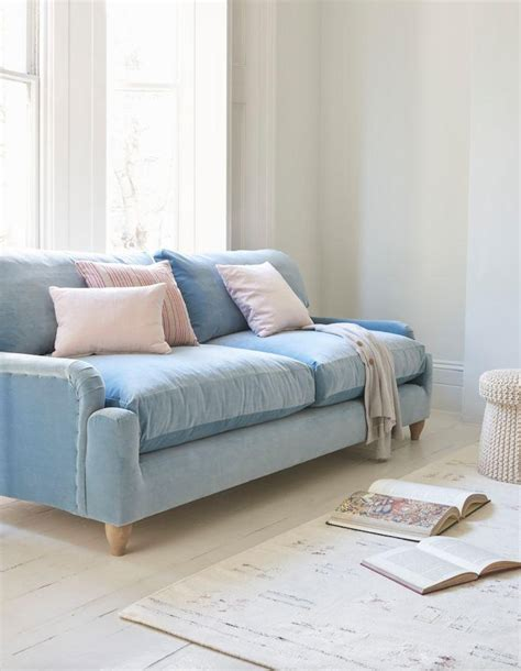 Light Blue Sofa Slipcover Sofa The Honoroak Light Blue Sofa Slipcover