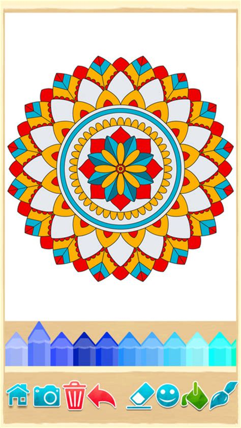 mandala coloring pages app mandala coloring pages on the app store