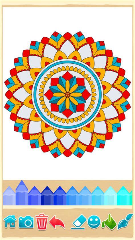 mandalas coloring book app mandala coloring pages on the app store