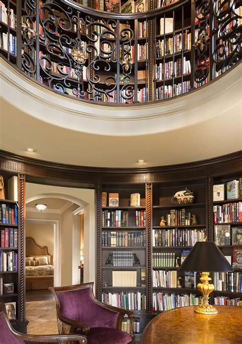 Interior Kitchen Designs tuscan inspired home library comes full circle a design