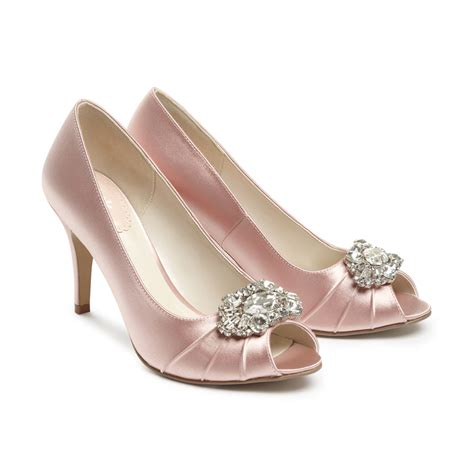 Blush Pink Bridal Shoes by Blush Occasion Shoes Tender Paradox Pink