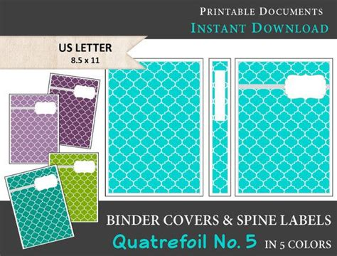 printable binder covers and spines best 25 binder spine labels ideas on pinterest