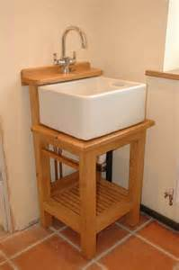 amazing Single Or Double Kitchen Sink #5: Small-stand-alone-Belfast-sink-unit-680x1024.jpg