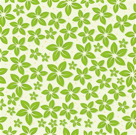 tea leaf pattern vector set of seamless leaves pattern vector free vector in