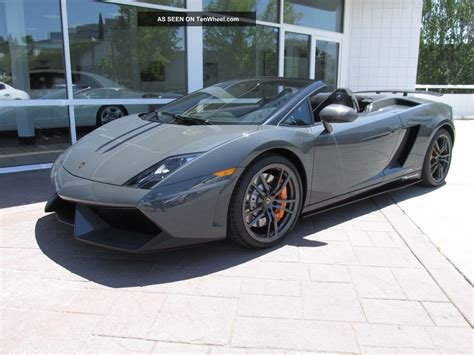 Lamborghini 4 Door Car 2011 Lamborghini Gallardo Lp570 4 Performante Spyder
