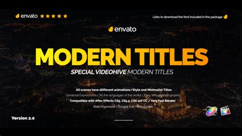 fcpx title templates modern promo titles pack for fcpx videohive