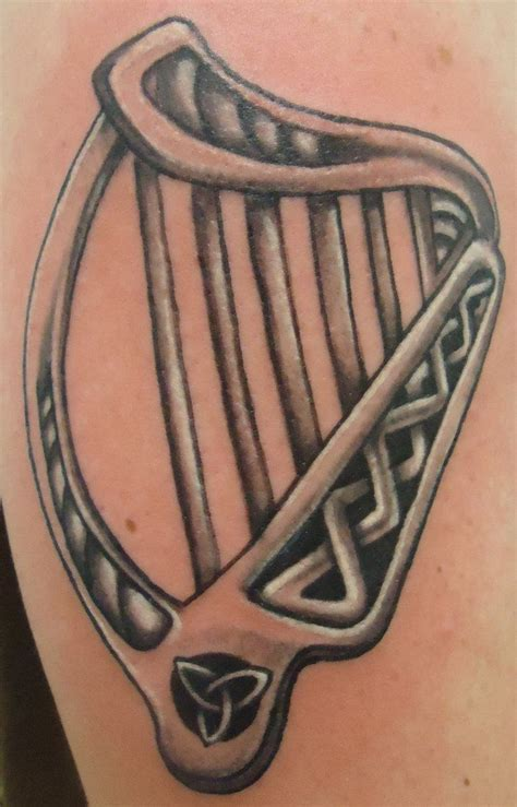 irish harp tattoo 24 best images about tattoos on